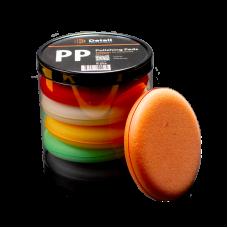 """Комплект аппликаторов поролоновых круглых PP """"Polishing Pads"""" 10,5*2 см (6 штук)"""