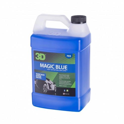 Водонепроницаемый спрей на основе растворителя 3D (3,785 л) - Magic Blue 703G01