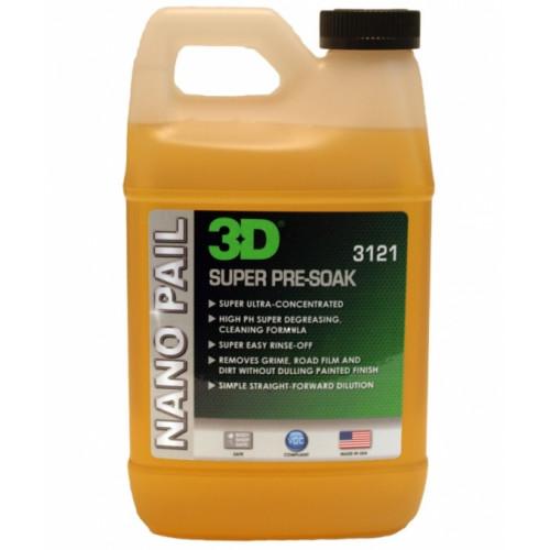 Шампунь-обезжириватель с высоким pH 3D (3,785 л) - Super Pre-Soak 3121G01