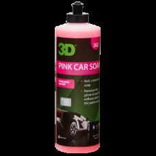 Ручной шампунь 2в1 3D (0,41 л) - Pink Car Soap 202OZ16