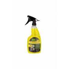 Удалитель тормозной пыли и жирных пятен c покрышек 3D (0,71 л) - Yellow Degreaser 106OZ24