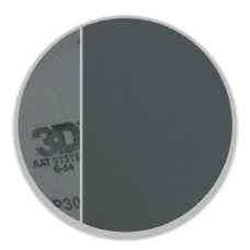 Абразивный диск на гибкой тканевой подкладке 3D - Sand Paper ACA LT Grey Flex p2500 3 Disc - G-32500