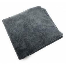 Полотенце из микрофибры серое универсальное плотное 400GM 3D - Edgeless MF Towel Grey G-40GRY