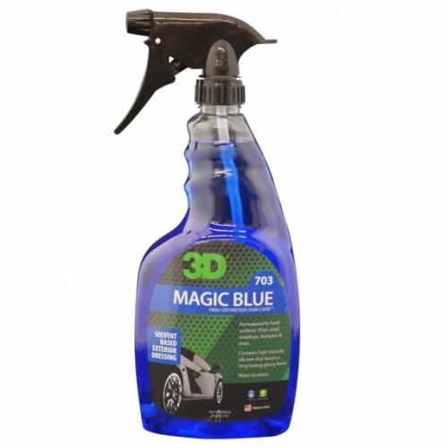 Водонепроницаемый спрей на основе растворителя 3D (0,71 л) - Magic Blue 703OZ24