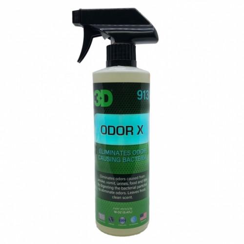 Удалитель запахов табака, рвотных масс, мочи, еды и прочего 3D (0,47 л) - Odor X 913OZ16
