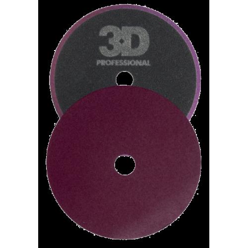 Грубый полировальник 3D - Dk Purple Cutting pad 140mm K-55DP