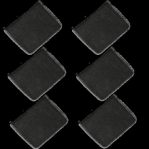 Губка аппликатор для нанесения воска 3D - Applicator Wax Black - G-26