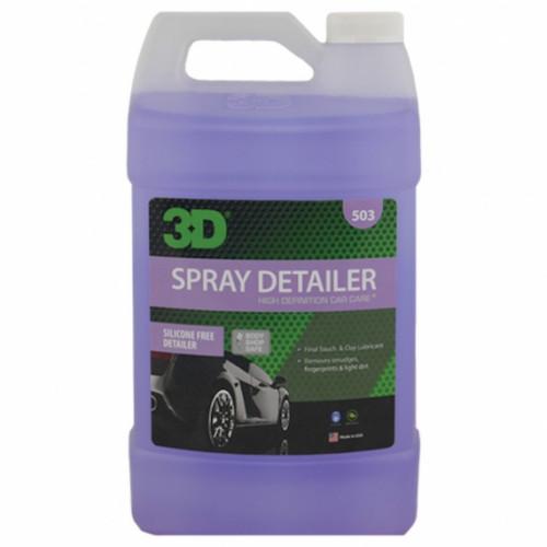Спрей для детейлинга без силикона для ЛКП 3D (3,785 л) - Spray Detailer 503G01