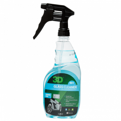 Очиститель на спиртовой основе для стекол 3D (0,71 л) - Glass Cleaner 901OZ24