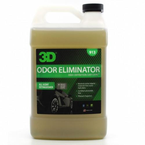Удалитель запахов табака, рвотных масс, мочи, еды и прочего 3D (3,785 л) - Odor X 913G01
