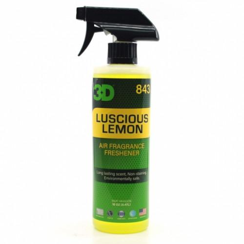 Освежитель воздуха для салона с ароматом лимона 3D (0.41 л) - Lemon Scent 843OZ16