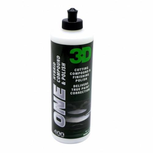 Гибридный состав для полировки 3D (0,95 л) - 3D ONE 400OZ32