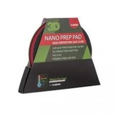 Круг для машинки с резиновой поверхностью, автоскраб 3D - Clay Pad Medium Grade 6 - G-09Pad