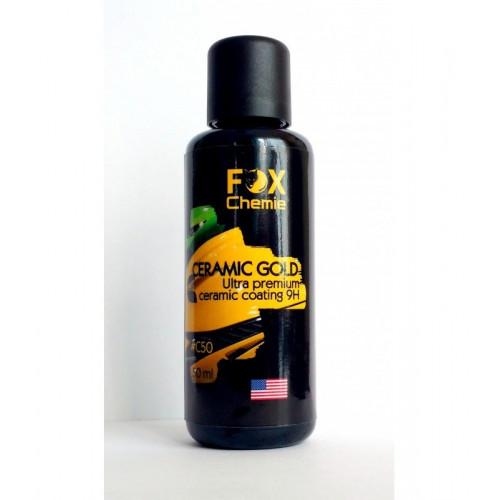 Керамическое покрытие для защиты кузова Ceramica gold 9H. FOX