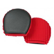 Варежка для мытья Ulti mitt rc Red/charcoal foam wash mitt