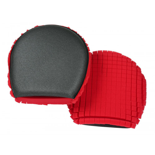 Варежка для мытья Ulti mitt rc Red/charcoal foam wash mitt