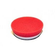 HDO-13350 Полировальный диск поролон красный финишный 90 мм
