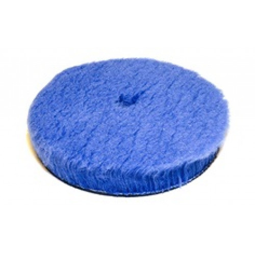 HYB-150 Полировальный диск гибридный мех режущий синий 150 мм