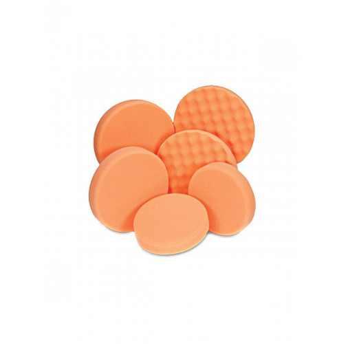 Антиголограмный круг orange (рифленый)