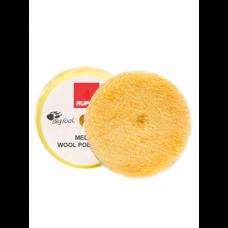 Диск полировальный из натуральной овчины желтый средней жесткости