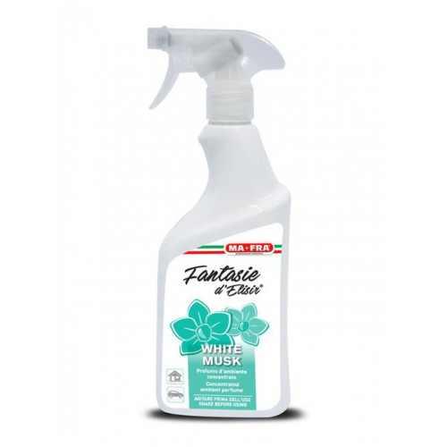 FANTASIE D'ELISIR WHITE MUSK 500 ML Освежитель воздуха Белый Мускус для дома и автомобиля