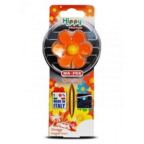 HIPPY ORANGE IMAGINE PEACE 12 PZ / ароматизатор хиппи оранжевый, представь себе мир / фрукты
