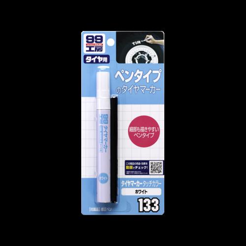 Tire Marker White -маркер для резины,белый SOFT99