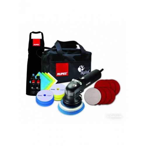 RUPES Машинка эксцентриковая полировальная с набором принадлежностей LHR 12E/DLX