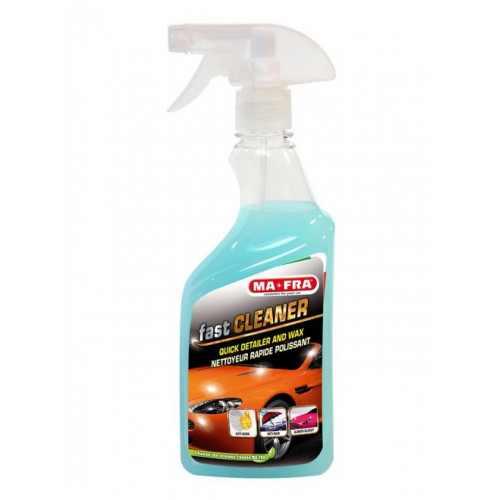 FAST CLEANER TRIAL 500 ML / QUICK DETAILER / экспресс-полироль с очищающим эффектом для автомобиля, лубрикант.