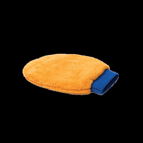 MICROFASER-REINIGUNGSHANDSCHUH - Оранжевая рукавица из микрофибры.