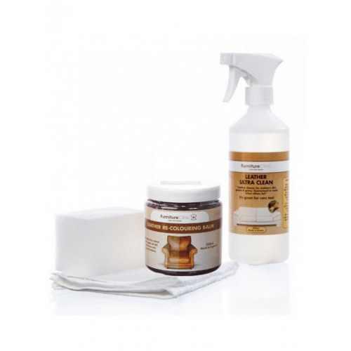 Набор для восстановления цвета кожи (Easy Leather Restoration Kit)