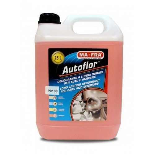 AUTOFLOR LIQUIDO VANIGLIA 5000 ML 4 PZ / дезинфицирующий дезодорант 5 кг ВАНИЛЬ концентрат