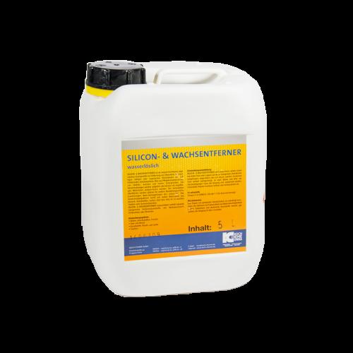 SILICON- & WACHSENTFERNER WASSERLOSLICH 5L  - средство для удаление силикона