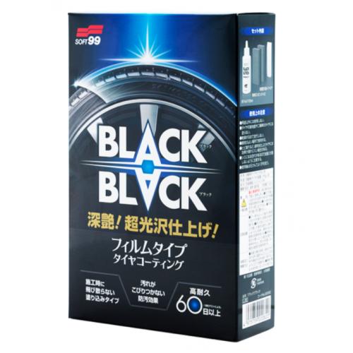 Soft99 Black Black Покрытие для шин